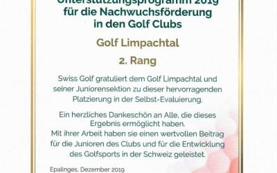 Juniorenorganisation Golfclub Limpachtal Top!